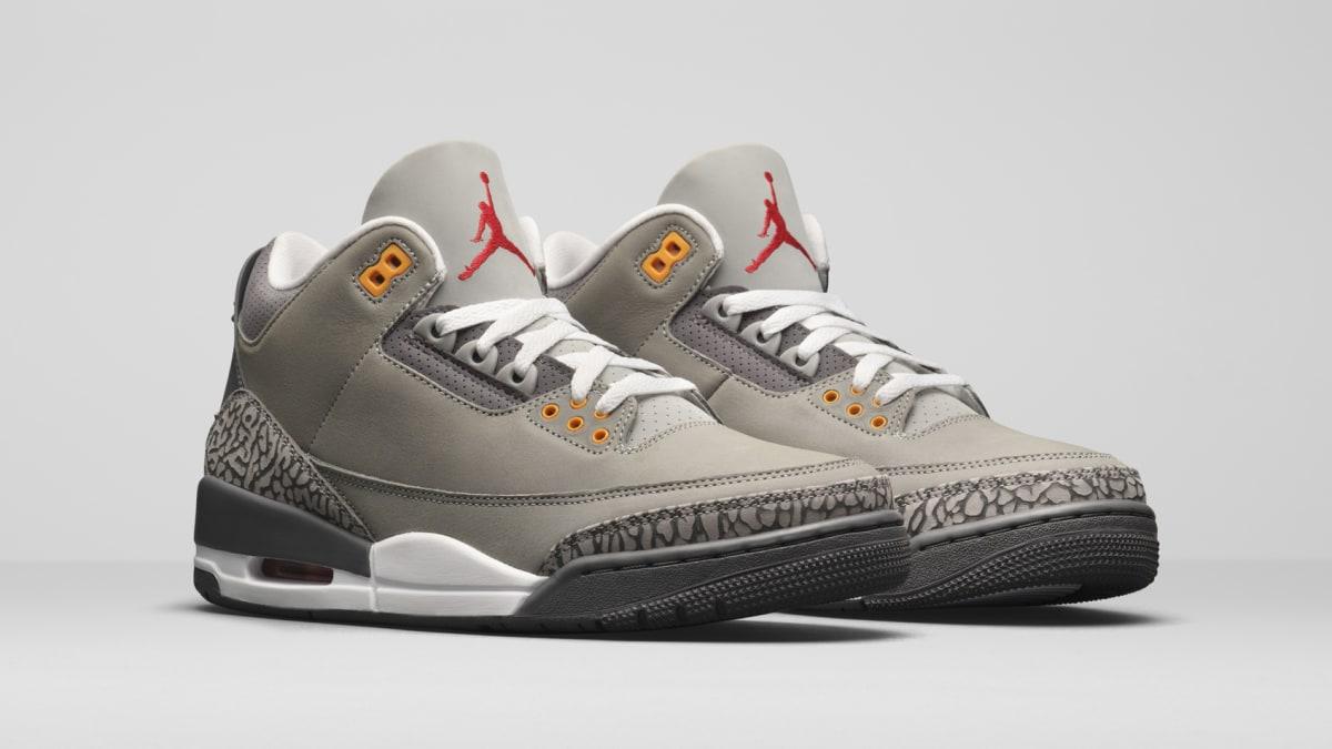 'Cool Grey' Air Jordan 3s Rumored to Release Next Month
