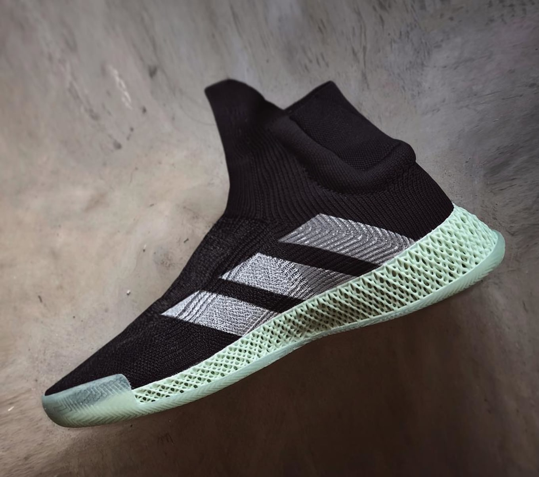 Adidas FutureCraft 4D Laceless Basketball Sample   Sole