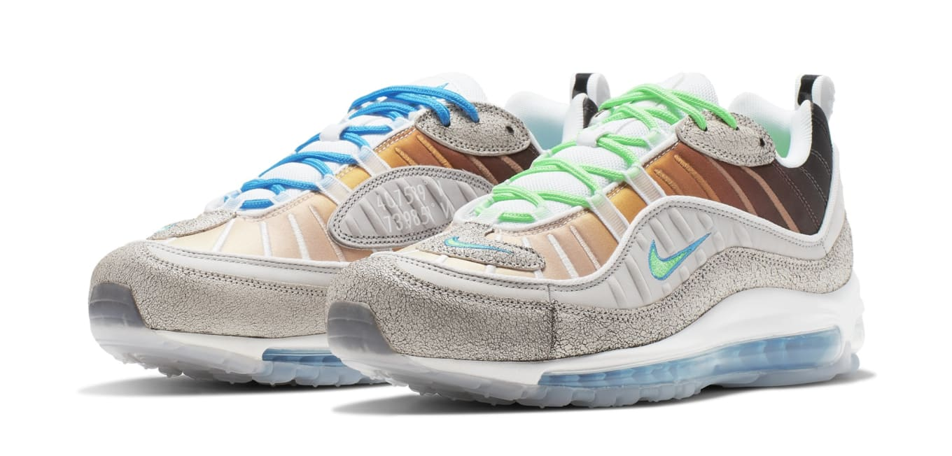 differently 2939a 4b116 Nike Air Max 98  La Mezcla