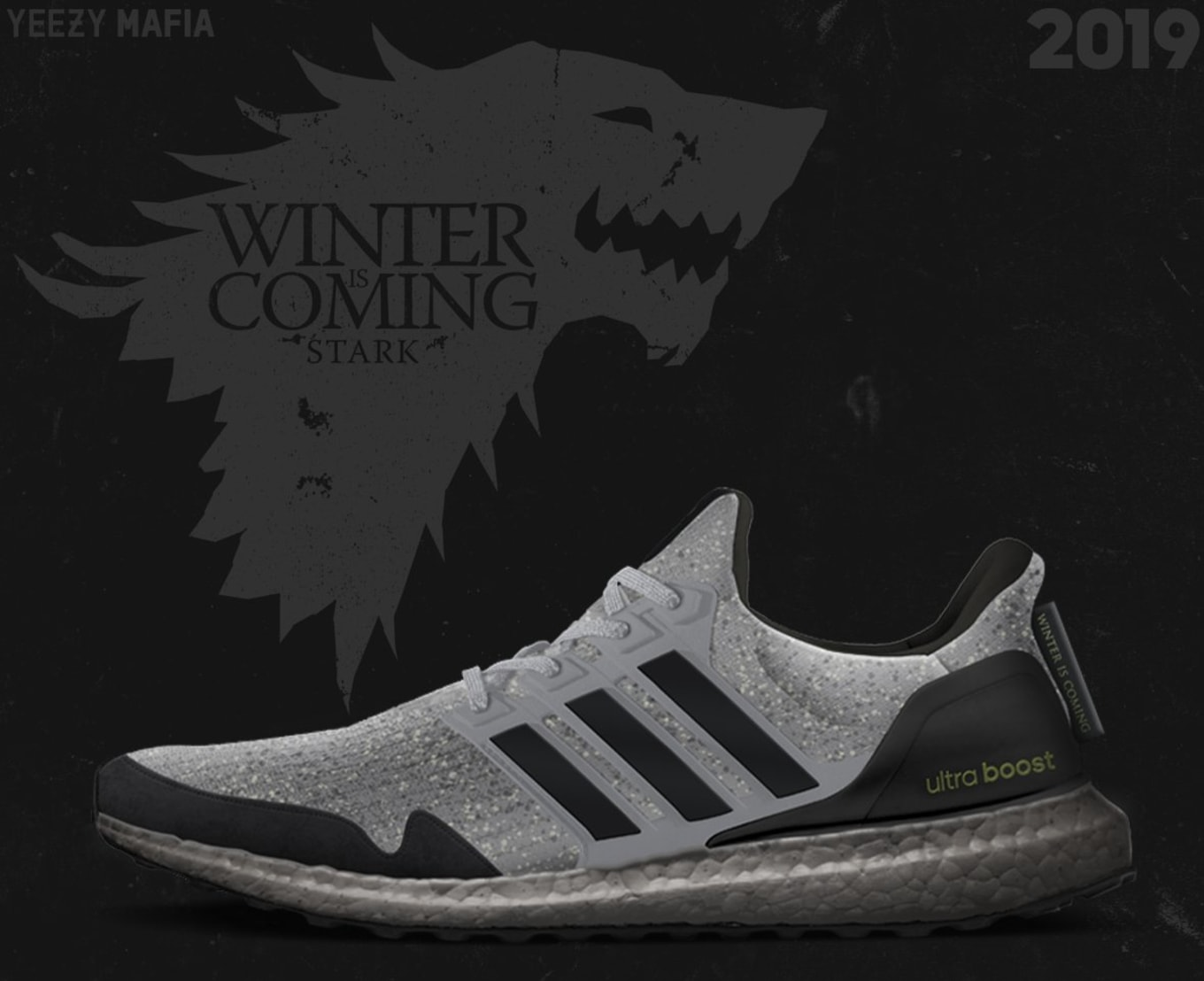 ea4ad6a49a475 Game of Thrones x Adidas Ultra Boost Sneaker Collaboration 2019 ...