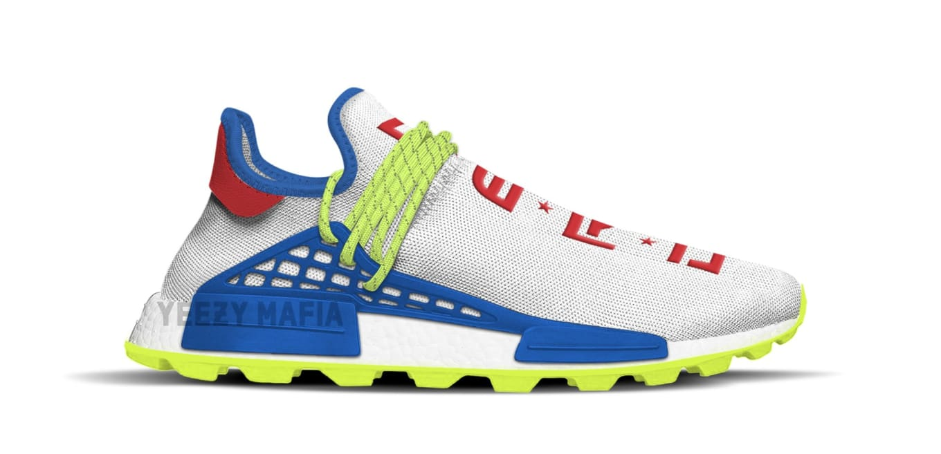 best website efb95 953e8 Pharrell Williams x Adidas NMD Hu 'N.E.R.D.' Virginia Beach ...