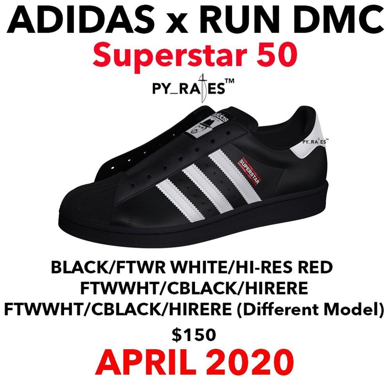 adidas superstar run dmc blue