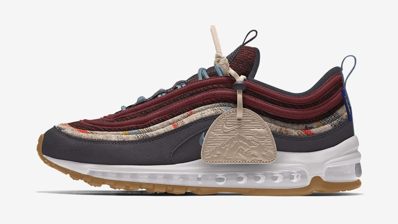 Nike Air Force 1 Low and Air Max 97 Pendleton By You Release Date ...
