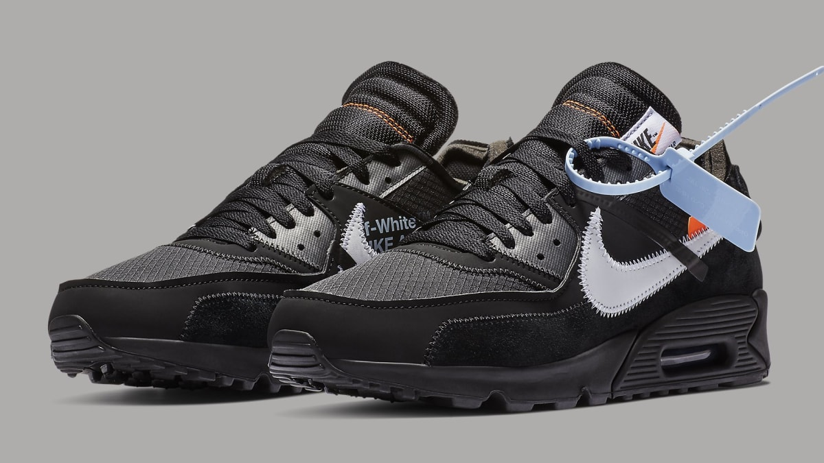 4ceec5d562de Off-White x Nike Air Max 90 Black Release Date AA7293-001