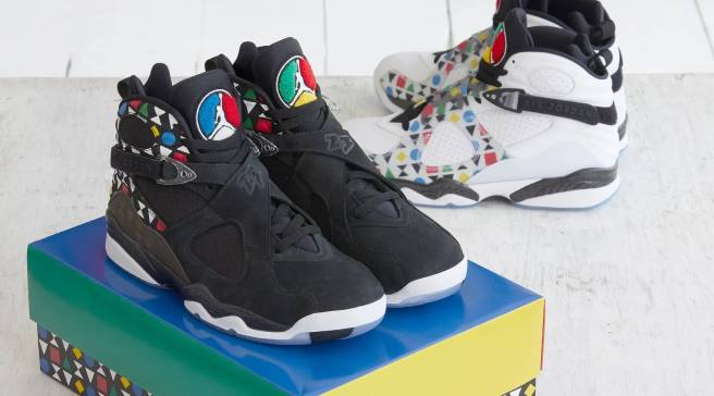 8915a08bf9d Another Colorway of the 'Quai 54' Air Jordan 8 Has Surfaced