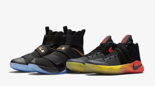 check out 25810 f06ad Nike Remembers LeBron and Kyrie s 41-Point Performances in Game 5