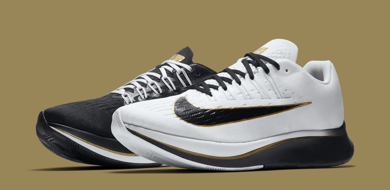 Nike Zoom Fly  Black Metallic Gold White  880848-006 Release Date ... 2bc1f775b