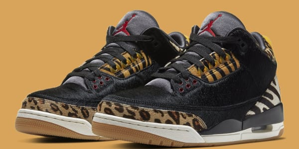 Official Photos of the 'Animal Instinct' Air Jordan 3 Releasing Next Week