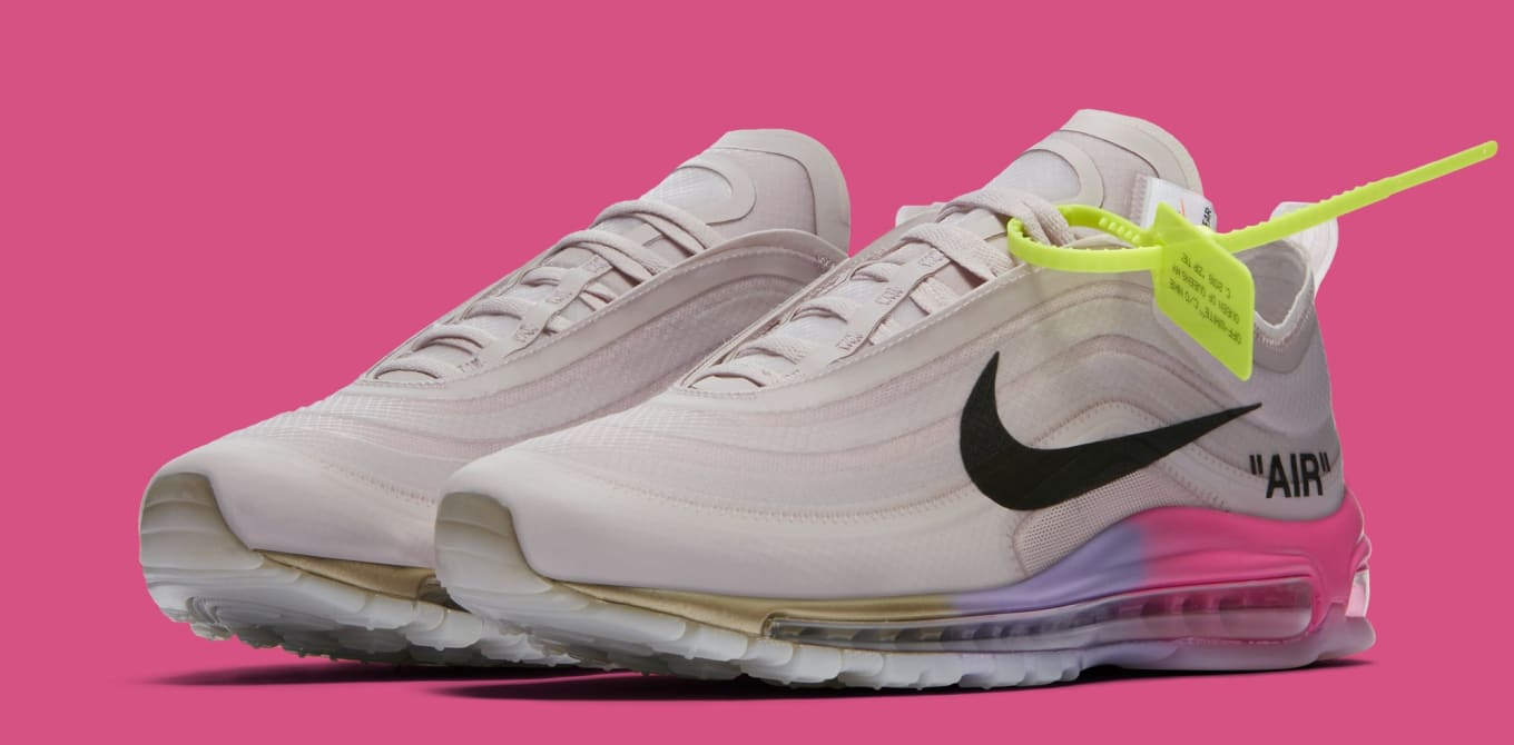 new style 87005 064ac Serena Williams Off-White x Air Max 97s Released Out of Nowhere.