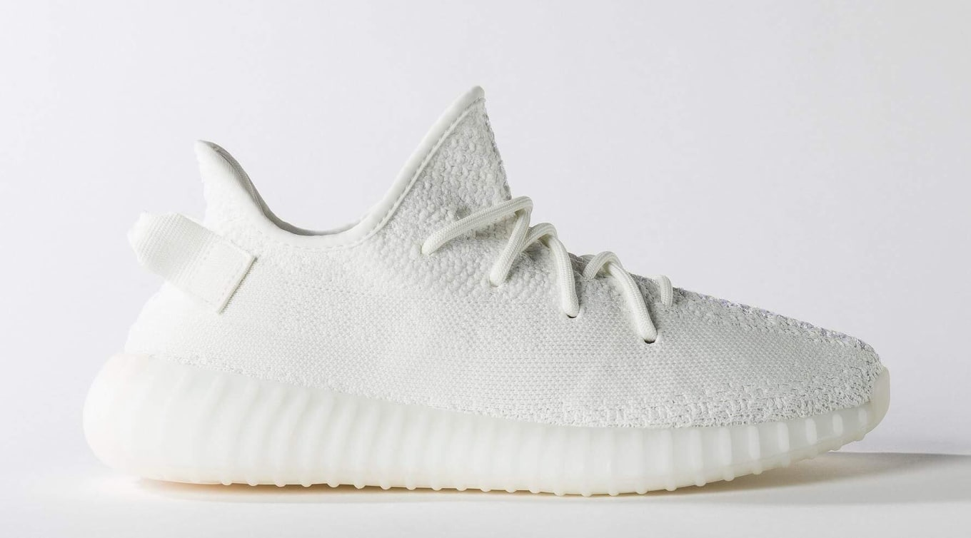 meet 941f6 8cebc  Cream White  Adidas Yeezy Boost 350 V2s releasing on April 29.