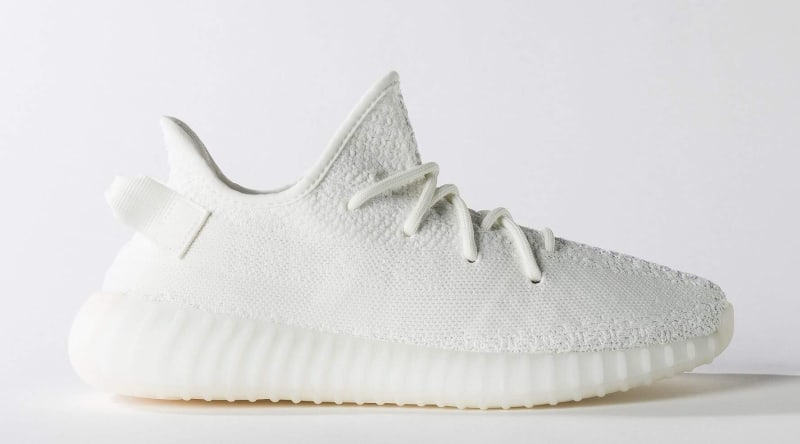 adidas Men's Yeezy Boost 350 V2 (Cream White) KicksUSA