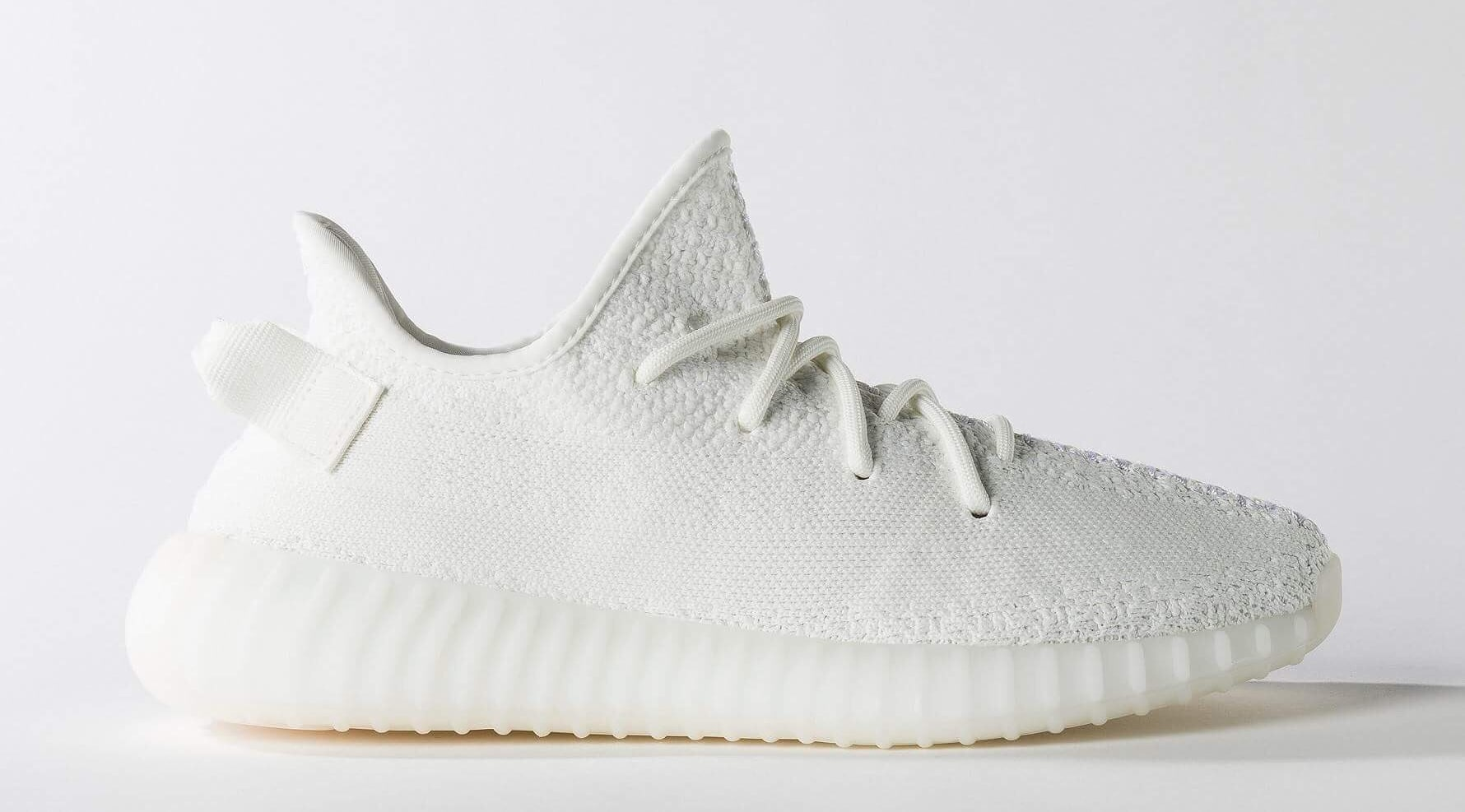Cream White Adidas Yeezy Boost 350 V2s releasing on April 29