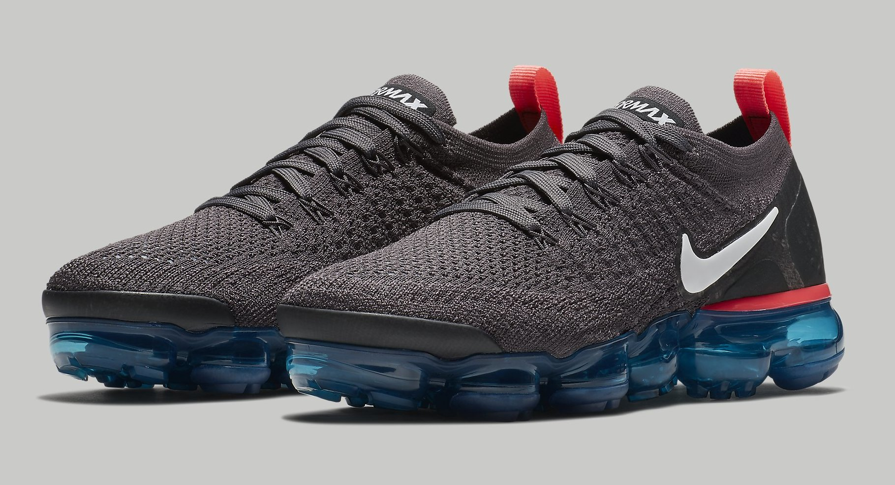0c8dd2aa081 Nike Air VaporMax 2 Flyknit  Thunder Grey  Release Date Aug. 2018 ...