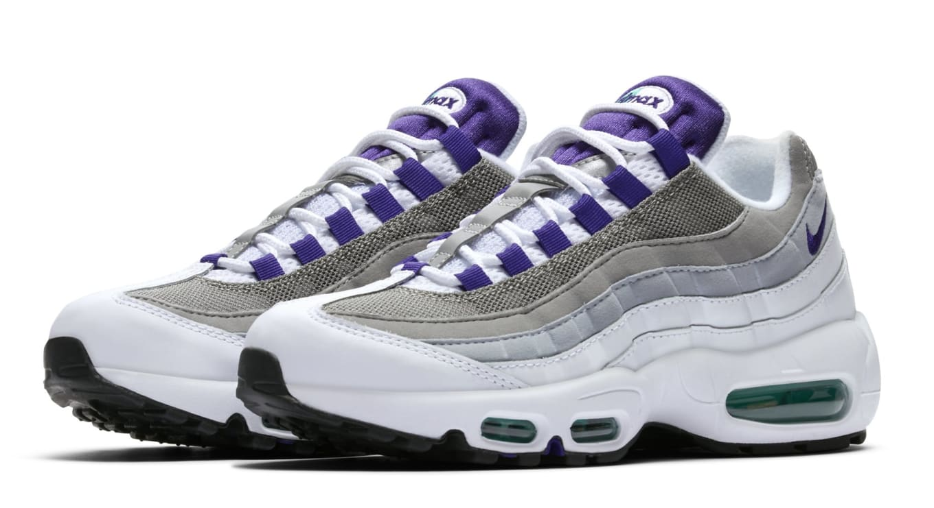 new styles 0f39d bf111 WMNS Nike Air Max 95  Grape  307960-109 Release Date   Sole Collector