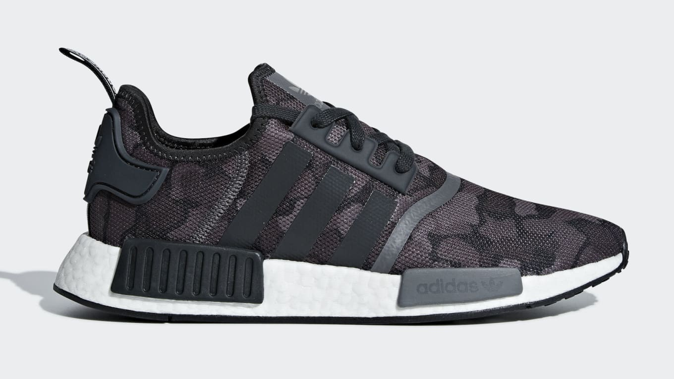 ab6870aa24e7b Adidas NMD R1 Core Black Grey Grey Release Date Aug. 1