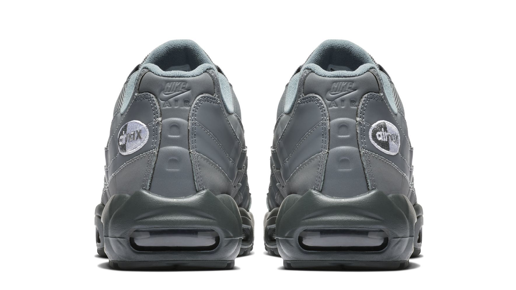 the best attitude 98f58 6af39 Nike Air Max 95 Essential  Grey  Logo Release Date   Sole Collector
