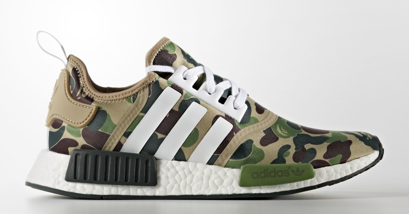 4dc86d86aa81d Bape x Adidas NMDs Are Releasing Again. Europe will get a crack at the  shoes on Jan. 12.
