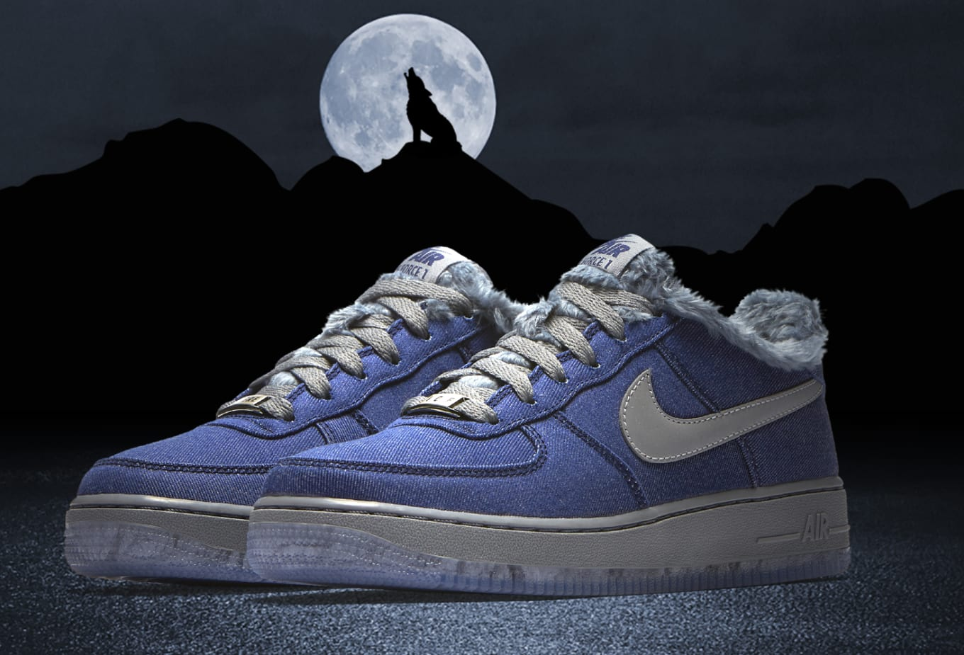 f32cb8298f13 Nike Air Force 1 GS  Full Moon  Release Date