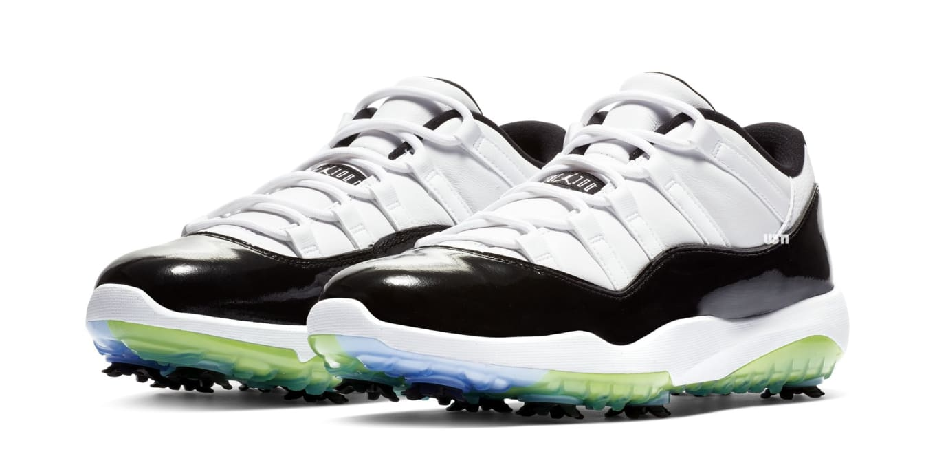 hot sale online b15ea b8ac9 This Air Jordan 11 Is Made for the Golf Course.  Concord  colorway dropping  next month.