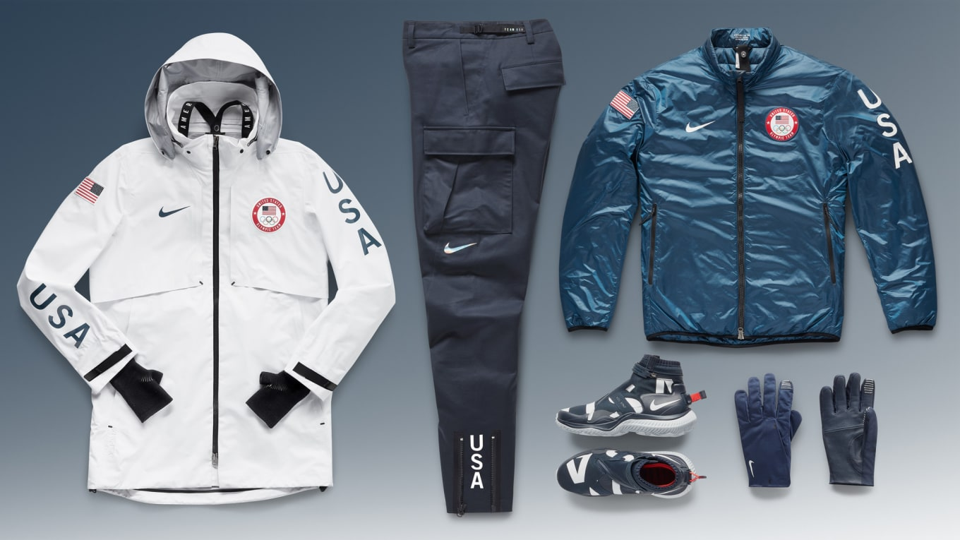 Usa Stand Nike's Medal 2018 Apparel Winter Team Olympics b67fgy