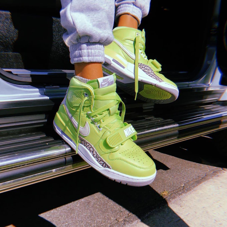 Air X Jordan Legacy Don Spotted Green' C Kid 312Sole 'ghost Cudi 67fvbyYg