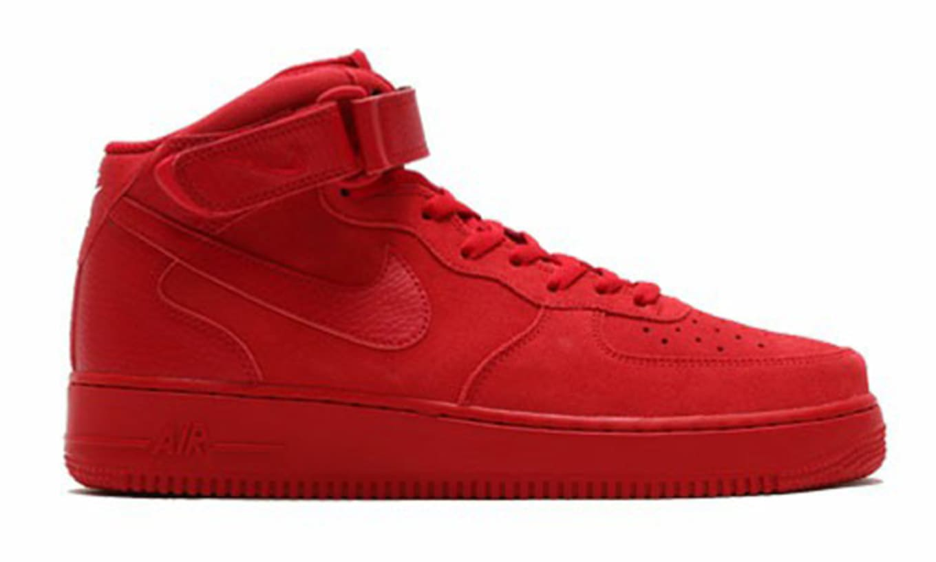 1 Mid Nike OctoberSole Collector Force Air Red dhQrtsC