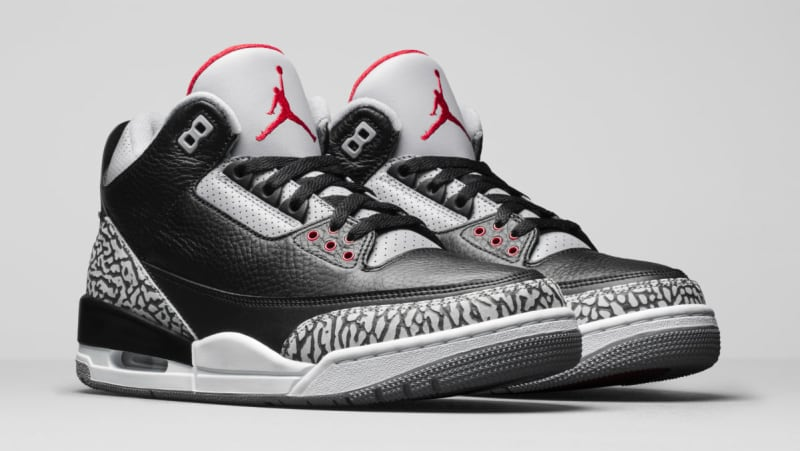 Air Jordan 3 OG Retro OG 'Black Cement 2018' - 854262-001 - Size 15 - tjz7ciG
