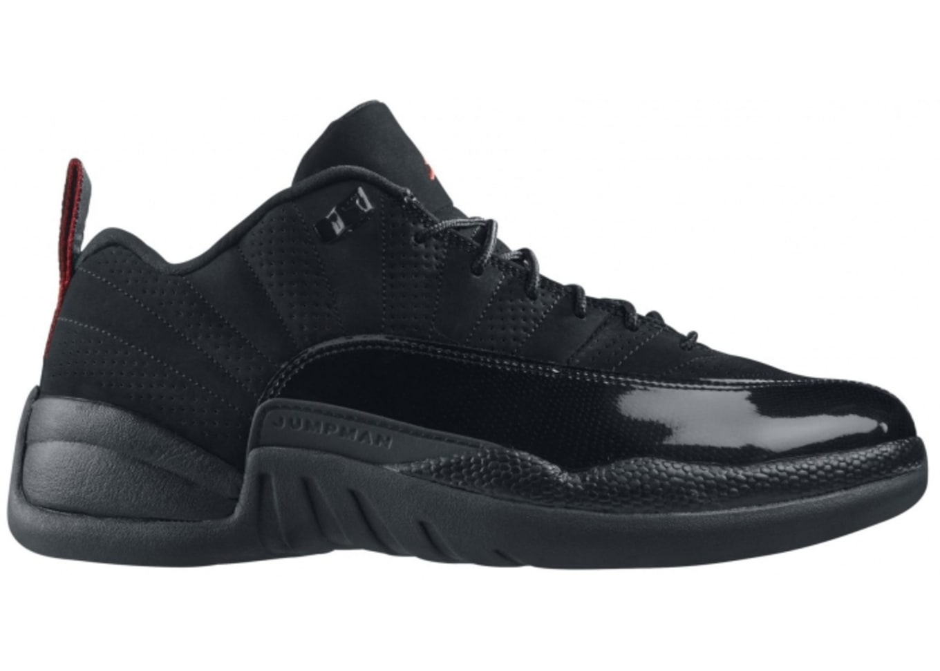 b62fa97c74a192 Air Jordan 12 Retro Low Black Varsity Red