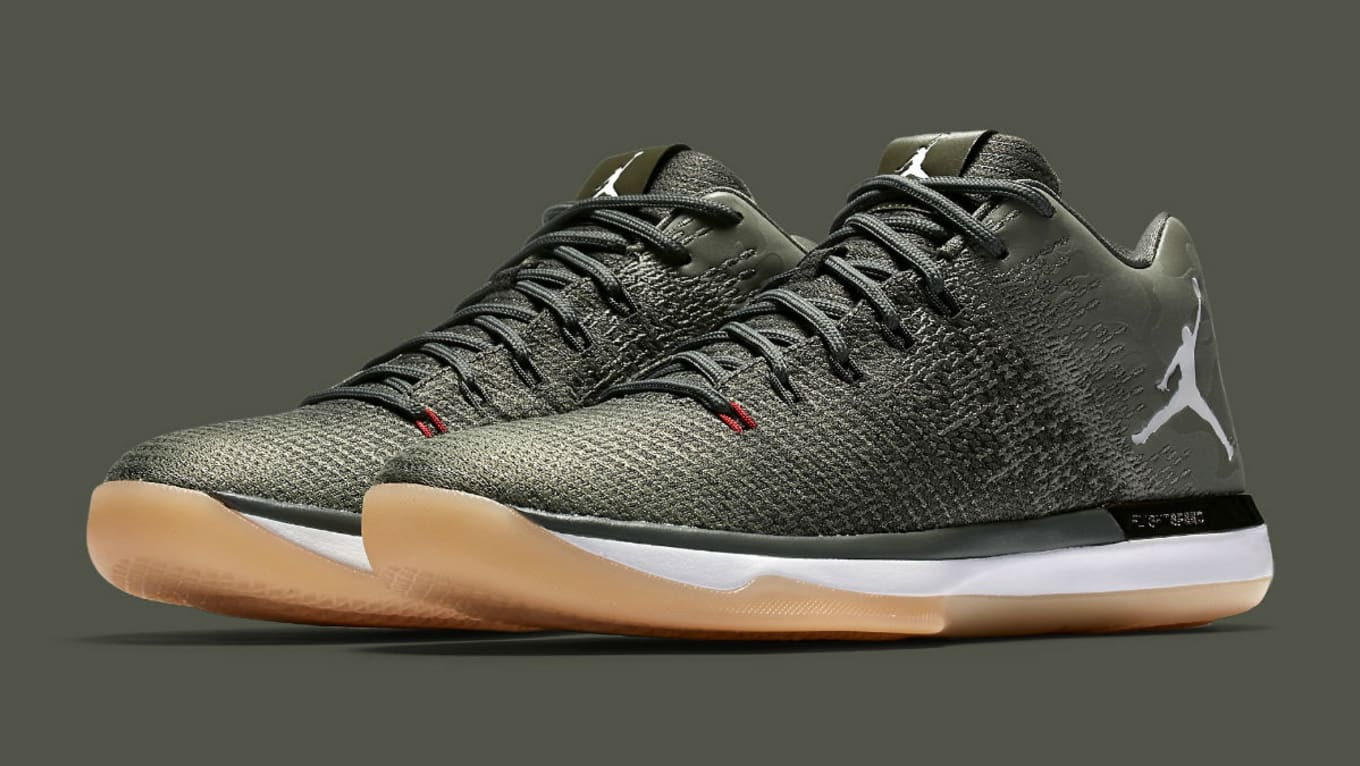 f5d8850cd01153 The Air Jordan 31 Low Suits Up for Flight.  Camo  colorway arrives soon.