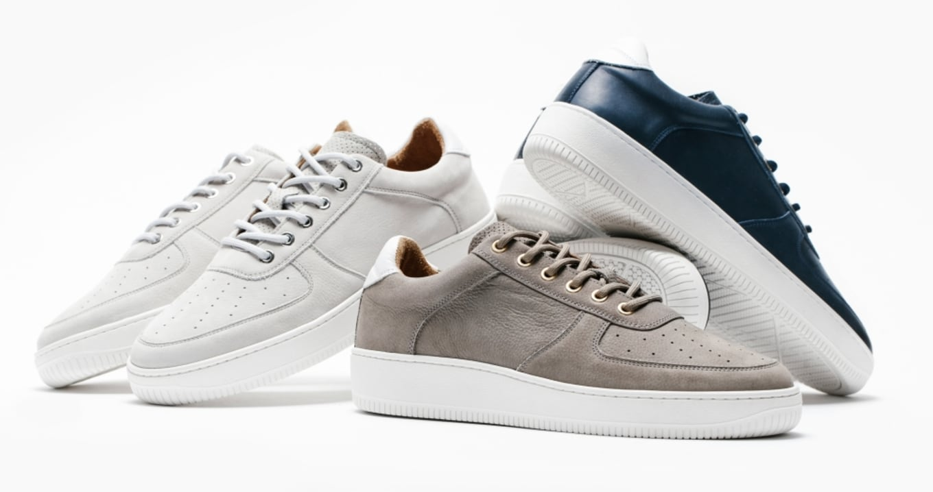 7a047f7fc711 A Portugal-made silhouette with an Air Force 1 feel.