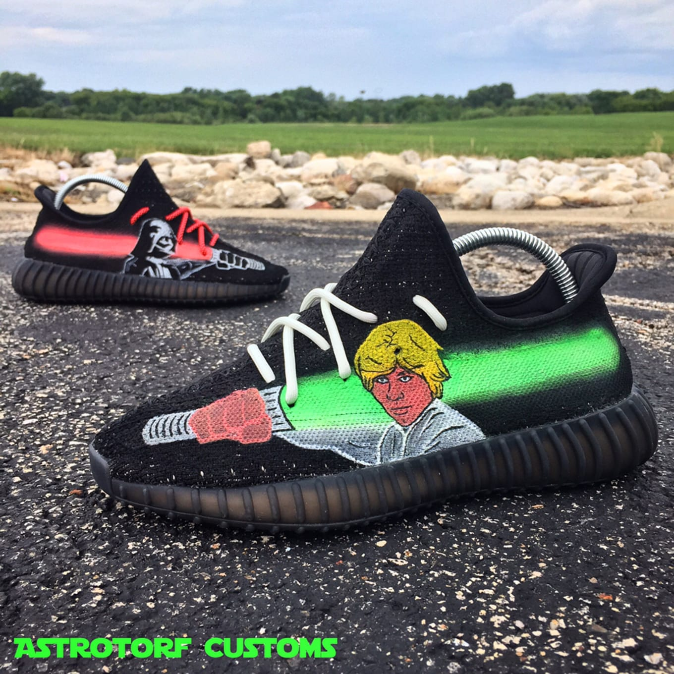 055e7b6da The Best Adidas Yeezy 350 Boost V2 Customs | Sole Collector