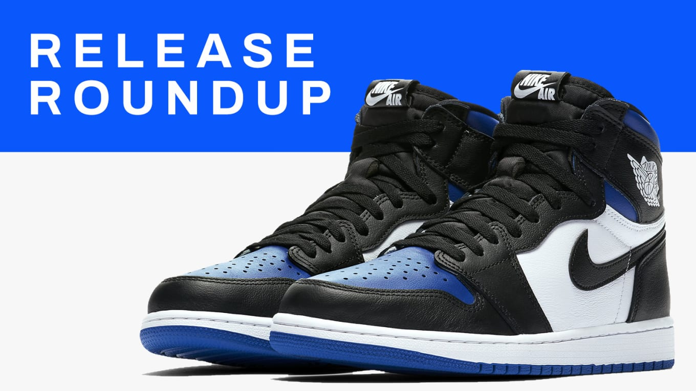 Sneaker Release Guide 5420: 'Royal Toe' Air Jordan I