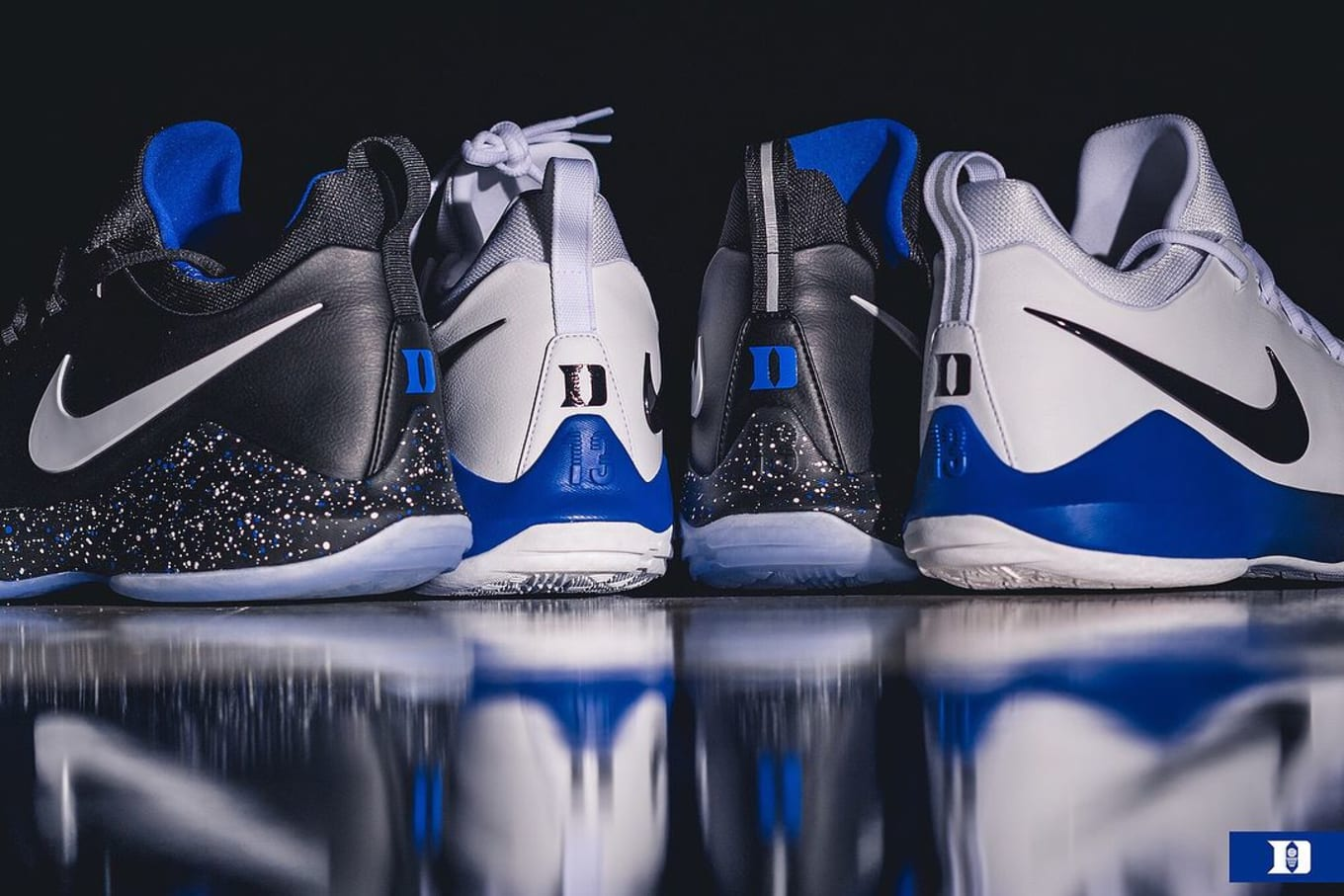 f6c3e166440ac Duke Shows Off Exclusive Nike PG1 Colorways