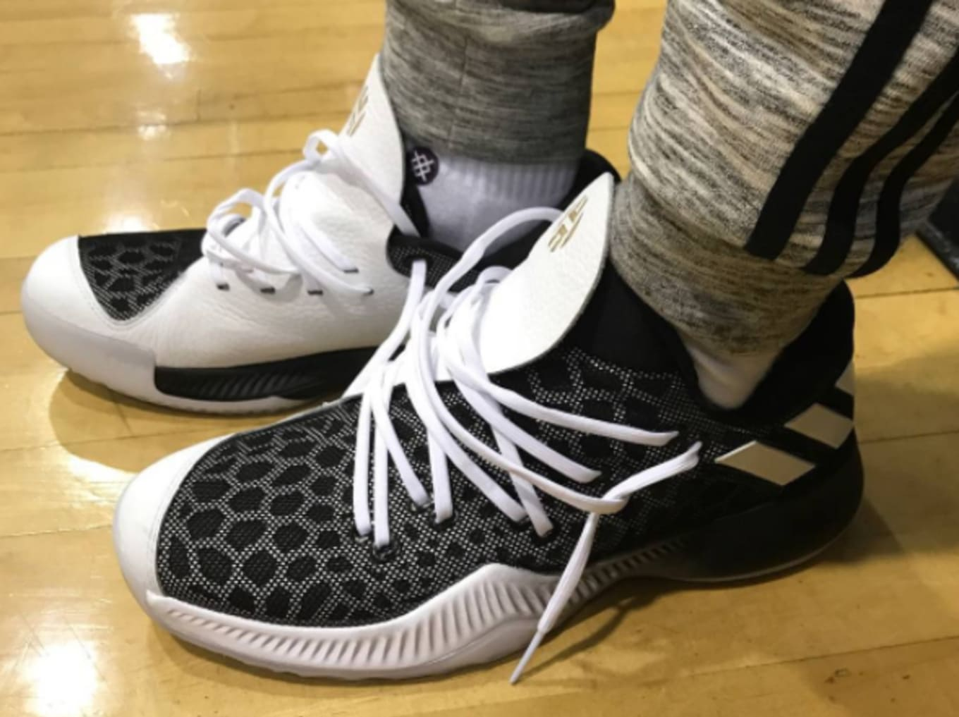 hot sale online 4e3d9 ed45d James Harden Has a Brand New Adidas Shoe. The Asia-exclusive Harden BTE.