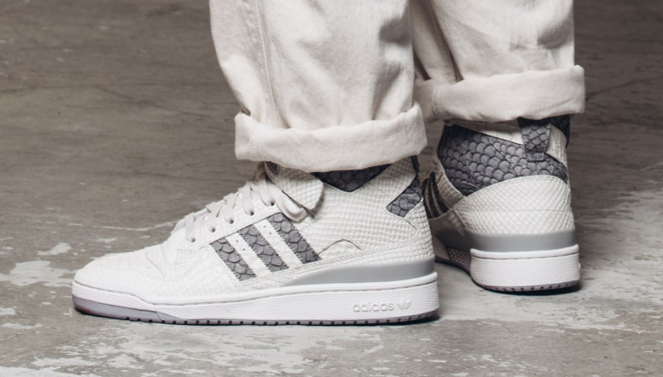 4dad7ea3f99 Adidas Forums returning in snakeskin.