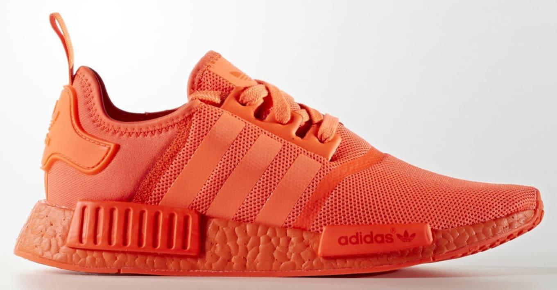 bcbfee1c16d88 Adidas NMD Triple Black Triple Red
