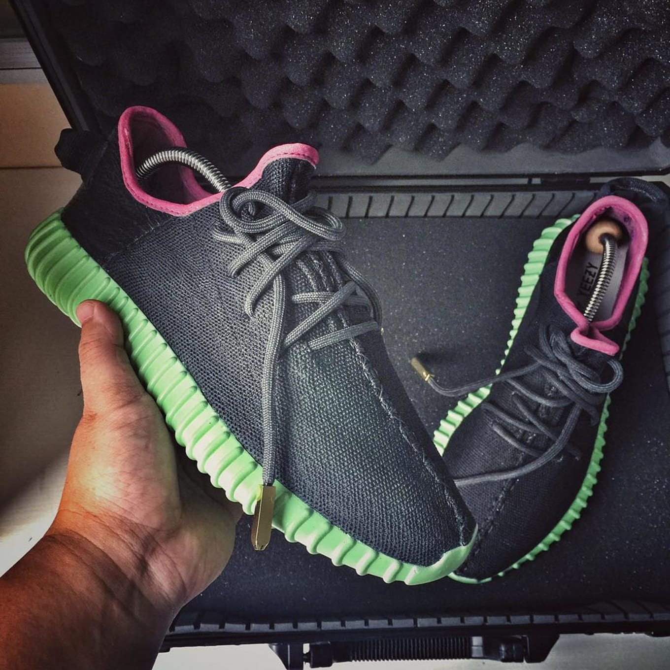 30812c2ec Here s What adidas Yeezys Look Like in a Nike Yeezy Colorway