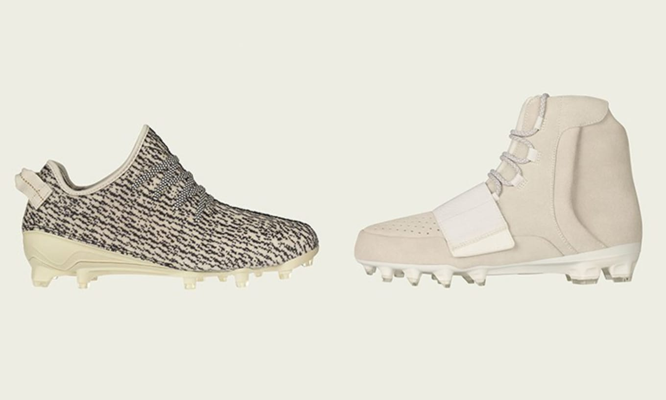 9130f161282 Release info for the Yeezy cleats by adidas and Kanye West.