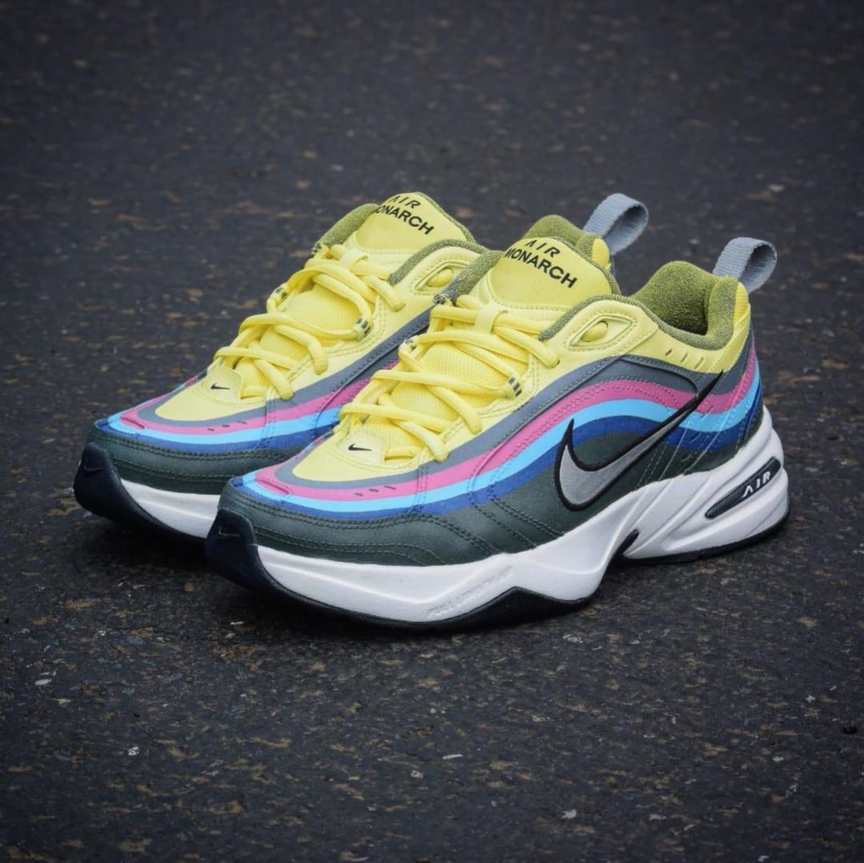 new concept f01bf 0ecb5 Nike Monarch Customs | Sole Collector