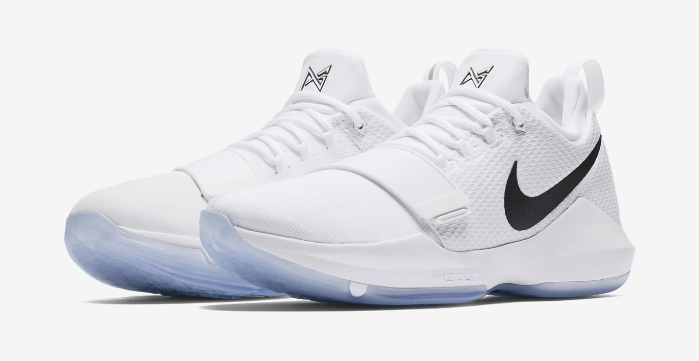 d66e0c8d33a9 Checkmate Nike PG1 White Black Chrome 878627-100 Release Date