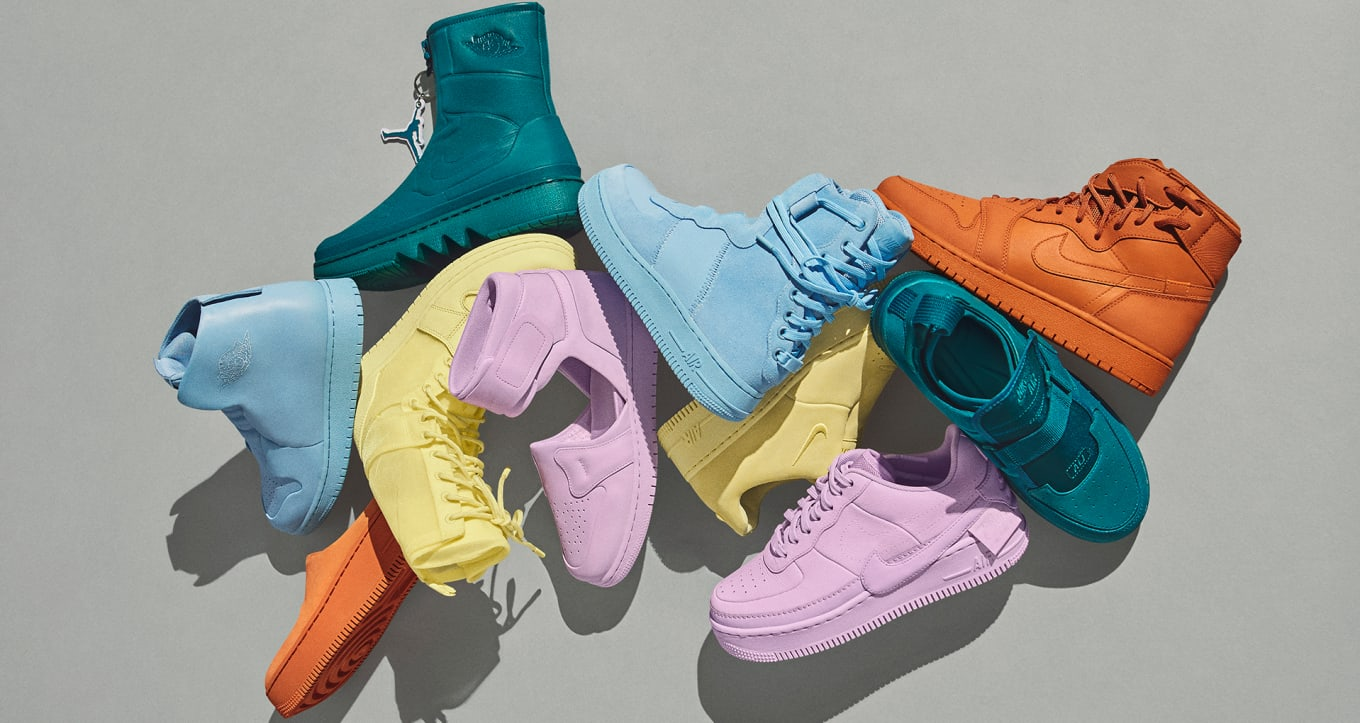 Women s Nike Jordan 1 Reimagined Collection Spring 2018 Release Date ... 9d810a6af