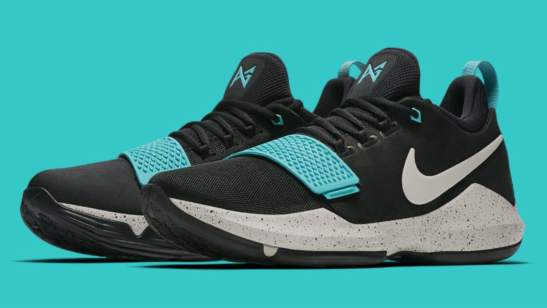 caf4974cf083 Nike PG 1 Black Light Bone Light Aqua Release Date 878628-002