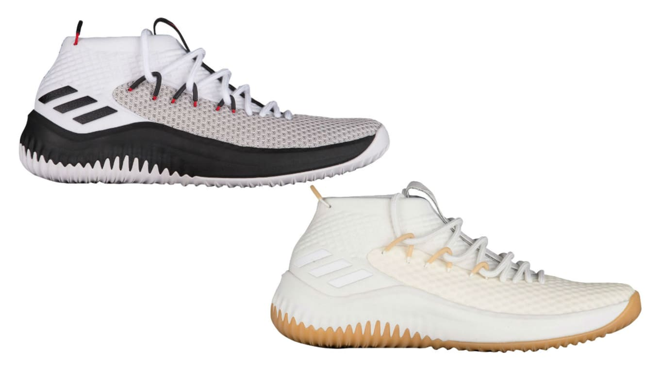 976483a019b6a3 Here s When Dame Lillard s Next Sneaker Is Releasing. The first two  colorways of the Adidas Dame 4.