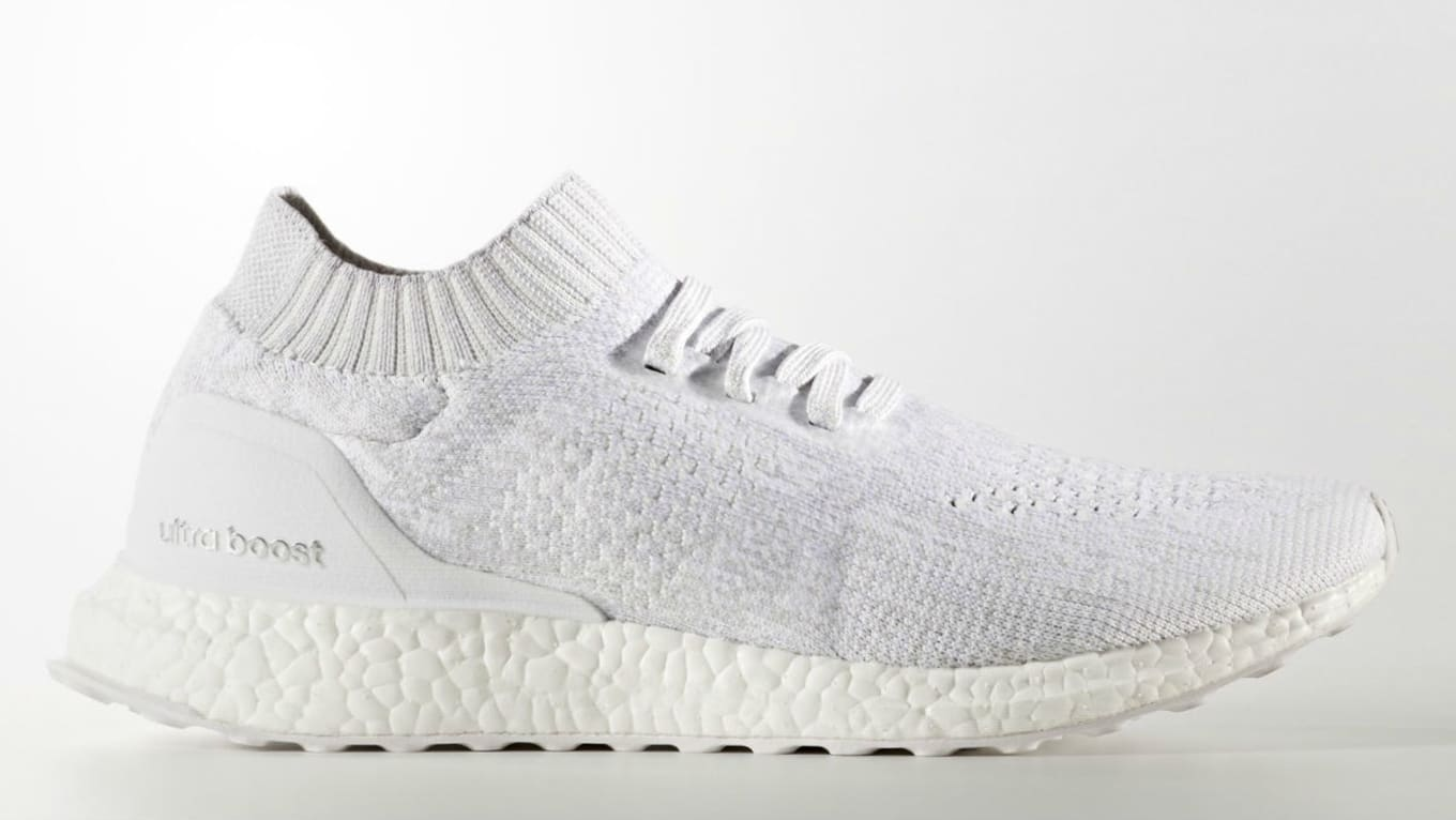 cheaper e6887 b3454 Adidas Ultra Boost Uncaged Triple White 2.0 Release Date ...