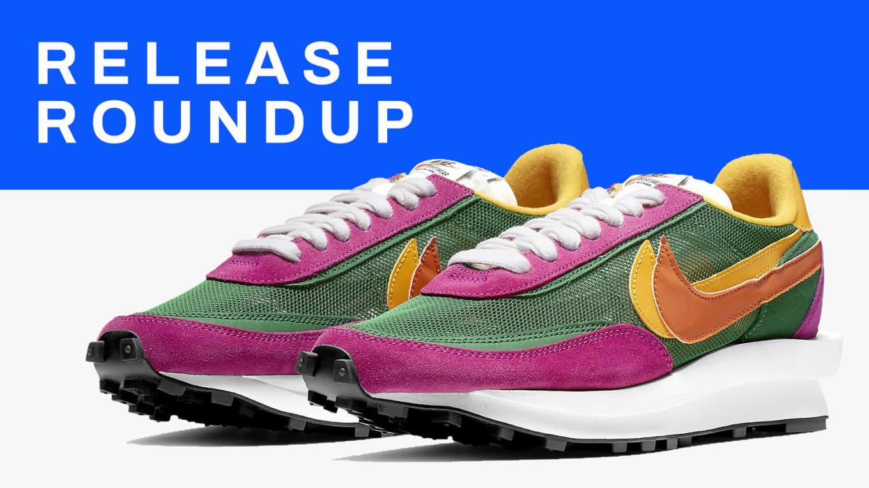 Sneaker Release Guide 91019: Sacai x Nike, Pharrell x