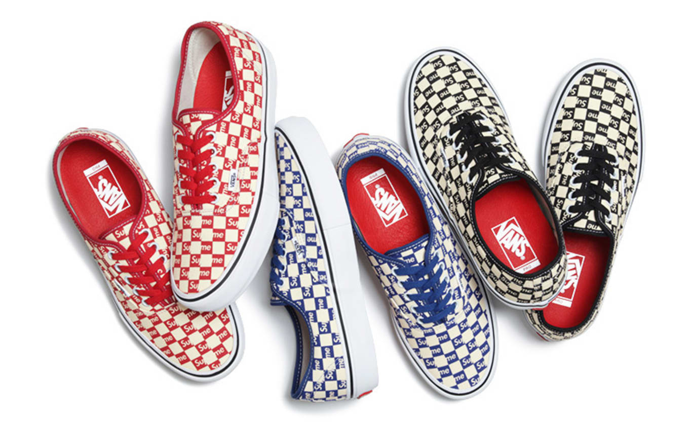 Supreme Remixes an Iconic Vans Style 203df3f9b