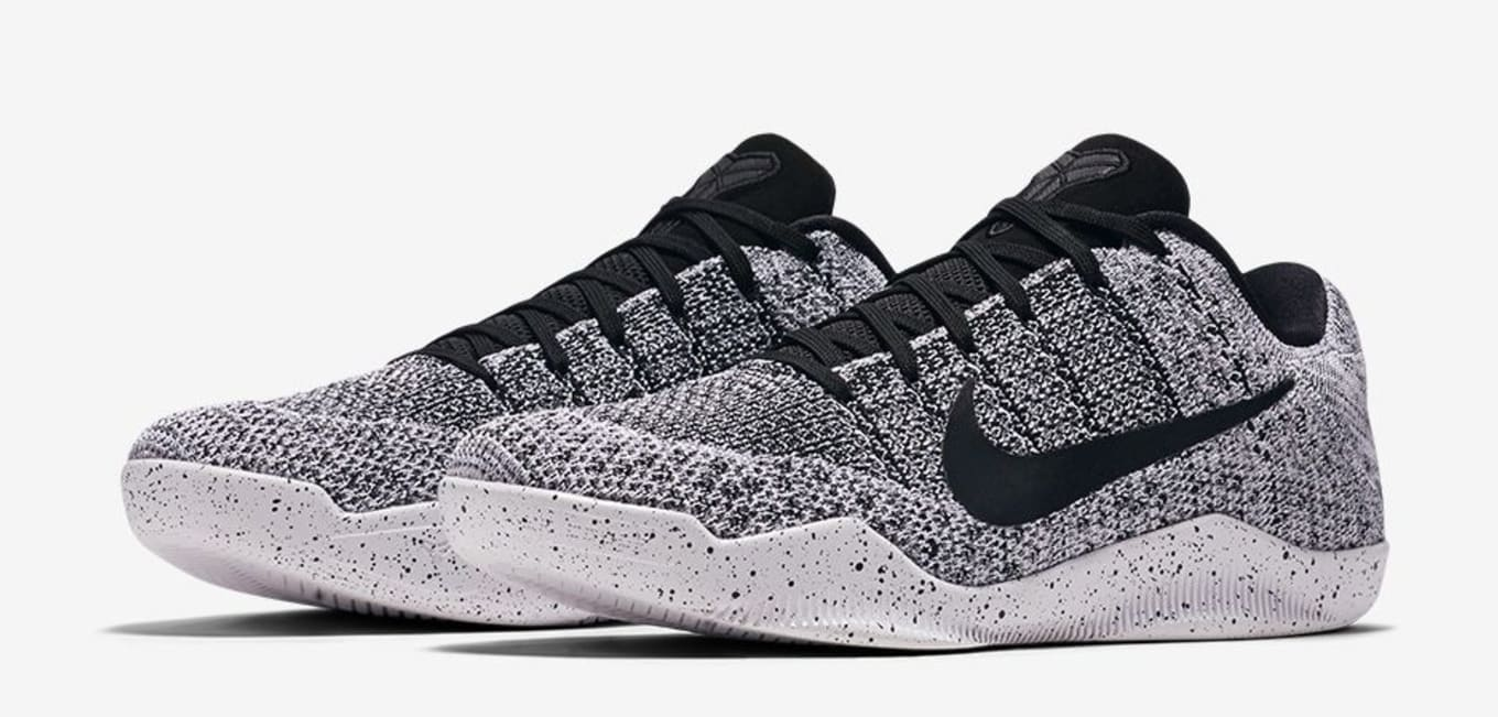 Nike Kobe 11 Elite Low Oreo 822675-100  6f8e7ed65