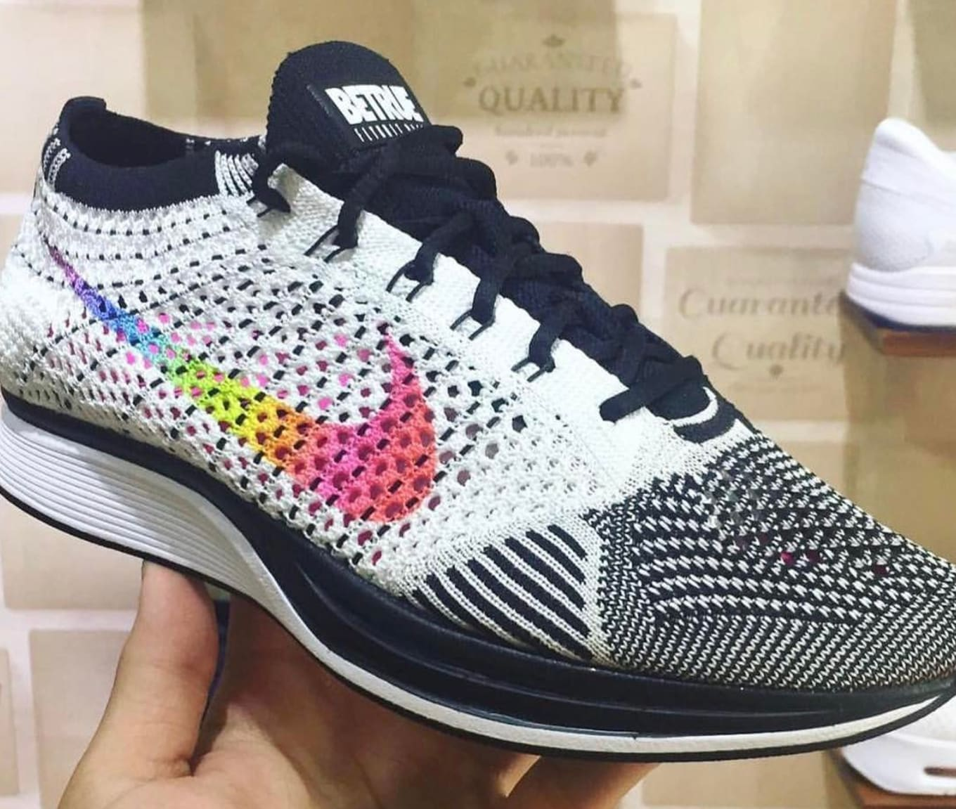 acb582b8e2116 First look at the  Be True  Flyknit Racers.