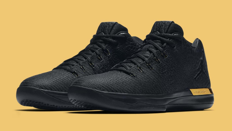 4930ce51875a Air Jordan 31 Low Black Gold Release Date 897564-023