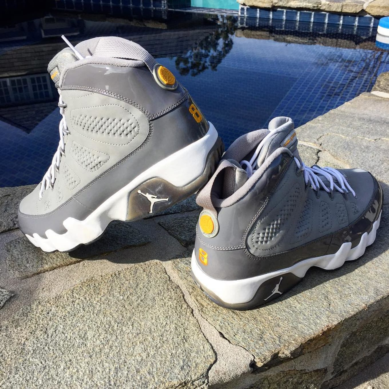 quality design 40269 eaeff Air Jordan 9 Cool Grey Kobe Bryant PE | Sole Collector
